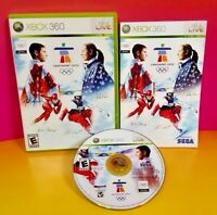 Vancouver 2010 -  Olympic Winter Games - XBOX 360 game -  Rare Complete