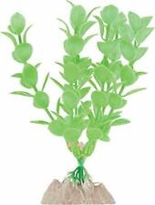 "TETRA GLOWFISH GLOW PLANT 5"" SMALL GREEN ORNAMENT GLO EFFECT. FREE SHIP IN USA"