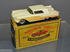 MATCHBOX MOKO LESNEY MODEL No.75a FORD THUNDERBIRD  VN MIB