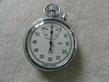 Vintage Mechanical Wind Up Stopwatch Made in the USSR