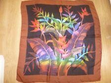 Handmade 100% Silk Original Vintage Scarves & Shawls