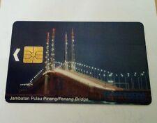 Malaysia Penang Bridge Jambatan Pulau Pinang Phone Card  电话卡