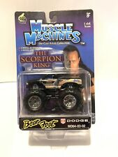 Funline Muscle Machines 1:64 The Scorpion King BEAR FOOT MONSTER TRUCK 2003