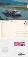 SWISS RIVER CRUISER MS GOTTHARD A SHIPS CACHED COVER & COLOUR POSTCARD