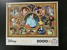 NEW! Ceaco Disney Classics Jigsaw Puzzle 2000 Pieces Cinderella Collage