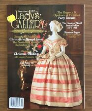 LADY'S GALLERY Magazine, Christmas Weddings, Victorian Dresses, French Fashion