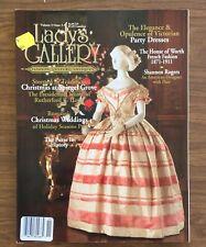 LADY'S GALLERY Magazine, Christmas Weddings, Victorian Dresses, French Fashion