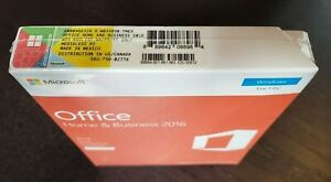 BRAND NEW Microsoft Office Home and Business 2016 Windows PC T5D-02776 Retail