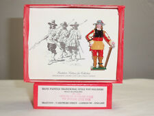 TRADITION 510 ENGLISH CIVIL WAR OFFICER AT THE ROYALIST FOOT METAL TOY SOLDIER