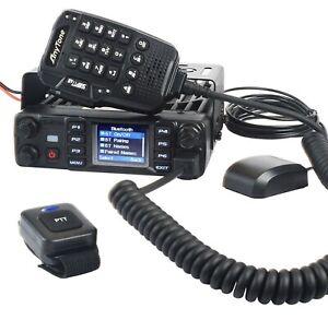 Anytone AT-D578UV Pro 55W VHF UHF DMR And Analog 2 Way Amateur Mobile Radio PTT