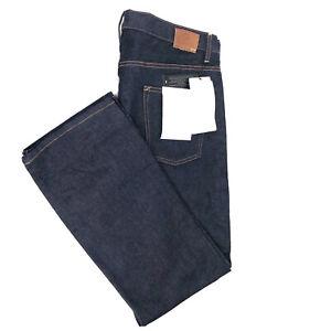 NEW Quiksilver Mens Blue Jeans Dark Wash Denim Size 38x32 (39x32) NWT