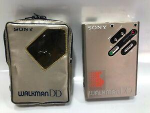 SONY WM-DD Cassette Player Walkman Gold With Case