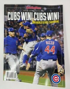 2016 SPORTING NEWS CHICAGO CUBS WORLD SERIES CHAMPIONS MAGAZINE NEW