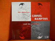 VINYL 33T – LIONEL HAMPTON & HIS ALL STARS : FABULOUS FABULEUX – VIBRAPHONE – 57