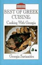 Best of Greek Cuisine: Cooking With Georgia-ExLibrary