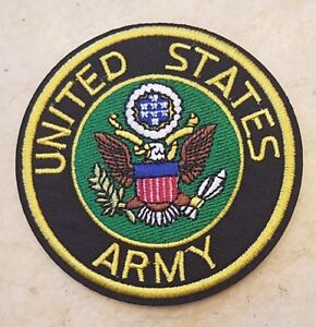 US ARMY 3 INCH ROUND PATCH