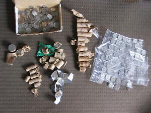 Bulk lot part rolls, 5 - 10 -20 -50 cent, 1971 onwards, 2001 SA roll