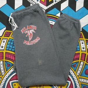 Vintage Russell Atlanta Falcons Sweatpants Adult L Grey NFL Football Mens 80s