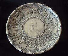 China 1915 Wai Kee .90 silver coin zodiac dish with silver Yuan Shih-Kai dollar
