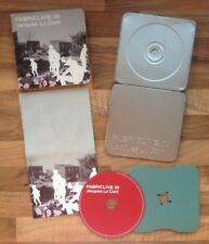 FABRIC LIVE 09 JACQUES LU CONT - Various Artists Mixed CD, Steel Casing & Sleeve