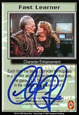 Babylon 5 Ccg Claudia Christian Shadows Fast Learner Autographed