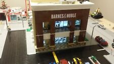 LEGO CITY CUSTOM BARNES AND NOBLE - MODULAR BOOKSTORE WITH A STARBUCKS CAFE!