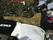 Kawasaki Stockman 250 camo canvas seat cover