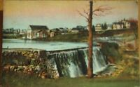 1910 Postcard: Mill Pond, Electric Plant, Middletown NY