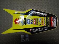 Suzuki RMZ250 2007-2009 Rockstar Makita rear fender graphic RM1219