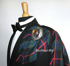 Kilt FLY PLAID moderno CAMPBELL OF cawdor TARTAN CON FRANGE E MADE IN SCOZIA Kilt