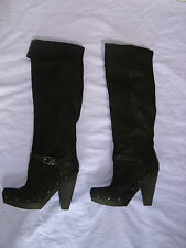 NEW Rachel Roy Rfenkala Black Boots 9.5 Medium