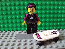 Lego Minifig ~ Series 6 ~ Skater Girl ~ #drftgxz