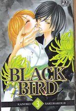 BLACK BIRD tome 3 Sakurakouji MANGA shojo