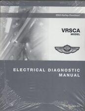 2003 HARLEY DAVIDSON VRSCA Electric Diagnostic Manual Service Book 99499-03 NEW