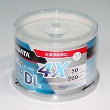 50 RIDATA 50GB Blank Blu-Ray BD-R DL 4X Dual Double Layer Inkjet Printable Disc