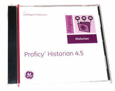 NEW SEALED GE PROFICY HISTORIAN 4.5 SOFTWARE