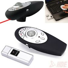 Wireless Presentation Controller w/ Trackball Mouse & Laser Pointer for PC Mac