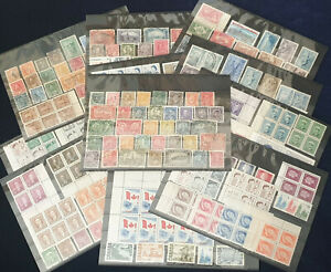 Canada Collection of Stamps on 11 Stckcards #4580