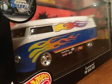 Hot Wheels Collectibles 1:18 Customized VW Drag Bus . Used In Very Goo Condition
