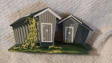 Corncribs Corn Amish 1997 Retired Shelia's House Collectibles