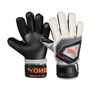 PUMA Men's One Protect 3 Goalkeeper Gloves Black 04148001