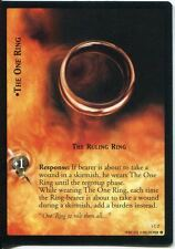 Lord Of The Rings CCG FotR Card 1.C2 The One Ring The Ruling Ring