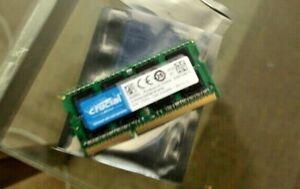 CT8G3S186DM - Crucial 8gb Ram DDR3/DDR3L, 1866 MT/s, PC3-14900, SODIMM, 204 pin