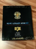 "NEW Kenner GI Joe ""Army Golden Knight"" 1997 Limited FAO SCHWARZ 12"" Parachute"