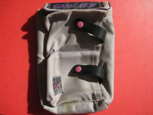 Original Game Boy System Carrying Pouch System Travel Case for DMG-01 System