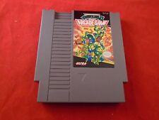 Teenage Mutant Ninja Turtles 2 II The Arcade Game (Nintendo NES 1990) game WORKS