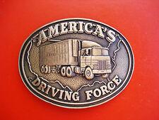 Vintage 604ms America's conduite Force laiton massif boucle ceinture