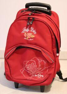 Cartable sac à dos et trolley DDP Fille