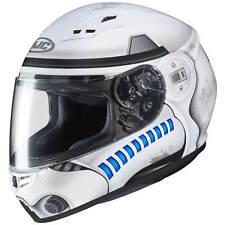 HJC cs-15 un Stormtrooper Moto Casque Intégral Touring-blanc gris bleu