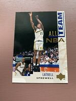 1994-95 Upper Deck Basketball #15 Latrell Sprewell All NBA Team